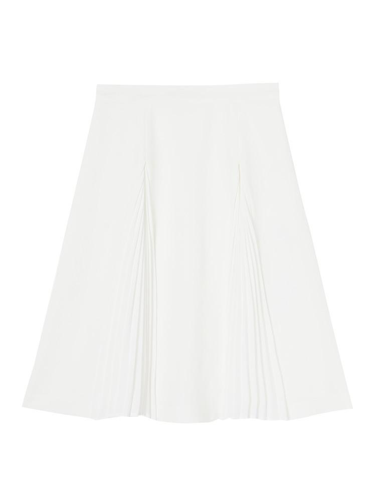 【DUO】ジプシーサップ プリーツ切替スカート(オフホワイト-F)