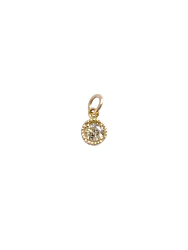 10KダイヤモンドTOPチャーム(ゴールド-F)