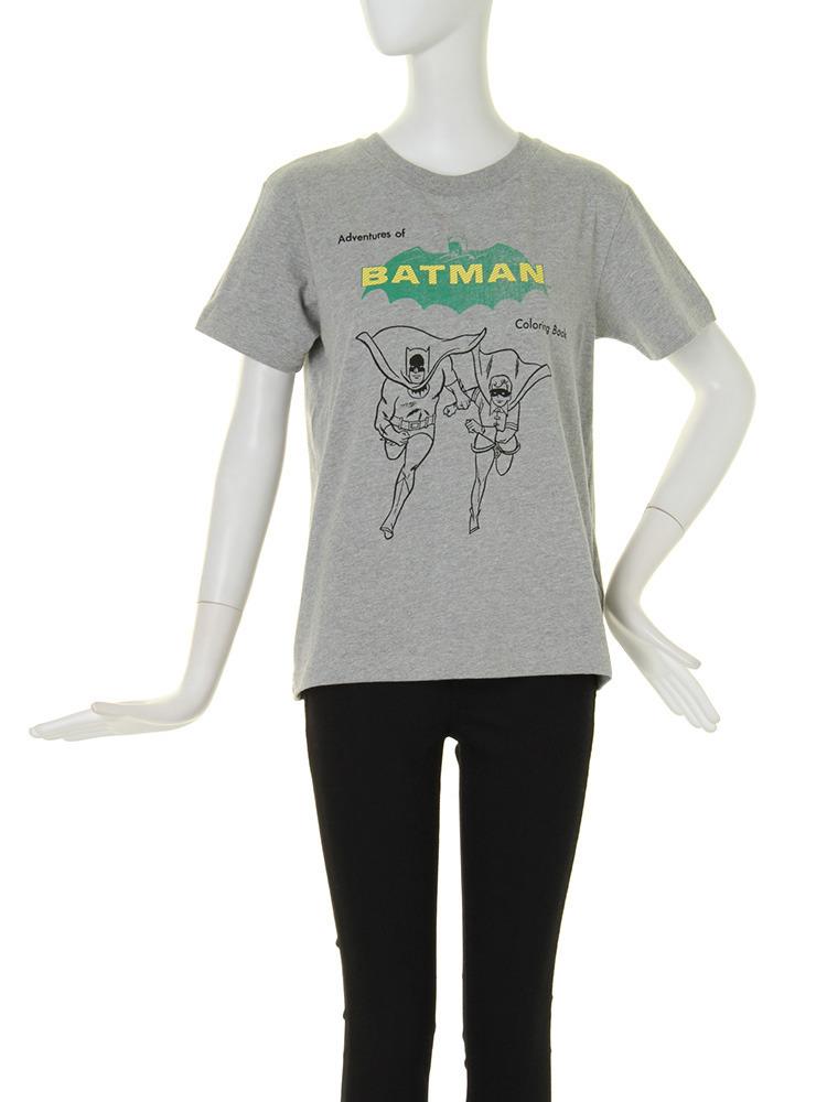 【CASUAL】BATMAN T-SH(グレー-F)