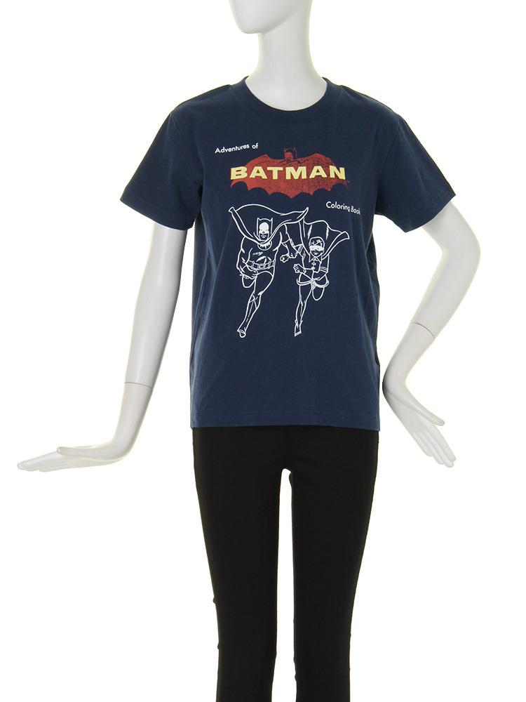 【CASUAL】BATMAN T-SH(ネイビー-F)