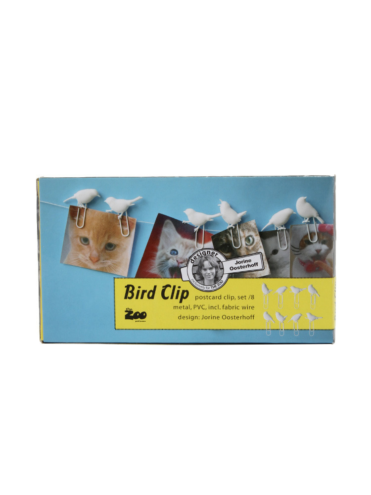【LIFE】Puhlmann Bird Clip(ホワイト-F)
