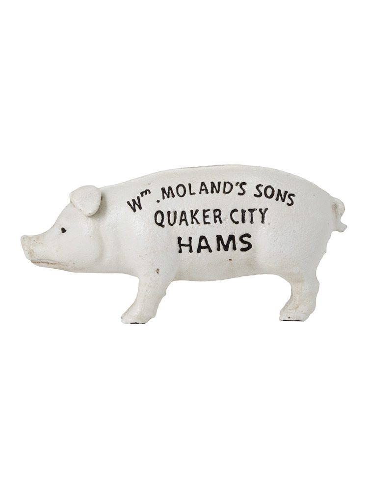 【LIFE】Hams Standing Pig Bank(ホワイト-F)