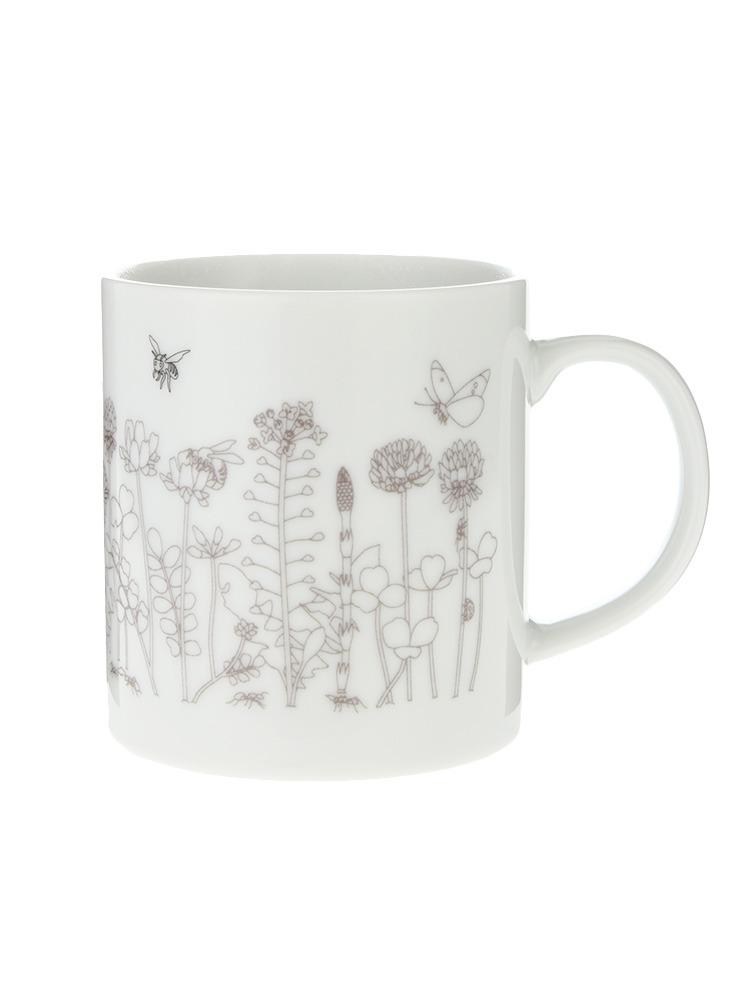 【LIFE】Bee&Friends Mug(ホワイト-F)