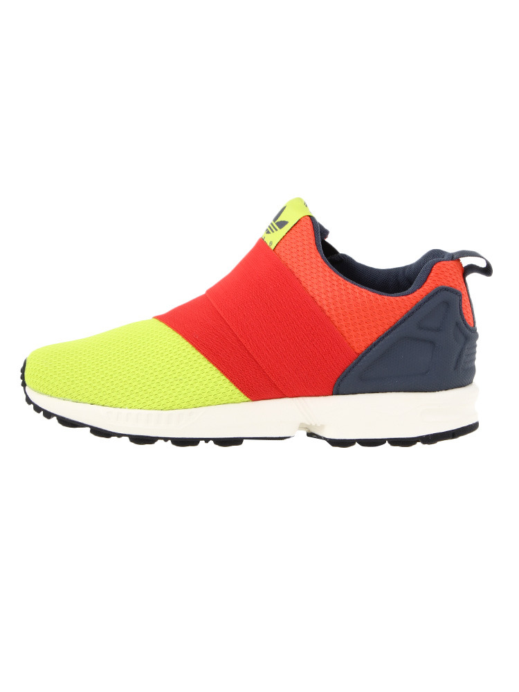【CASUAL】ZX FLUX SLIP ON(イエロー-35(22.5))