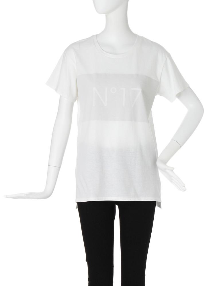【CASUAL】ラバーロゴオーバーTシャツ(グレー-F)