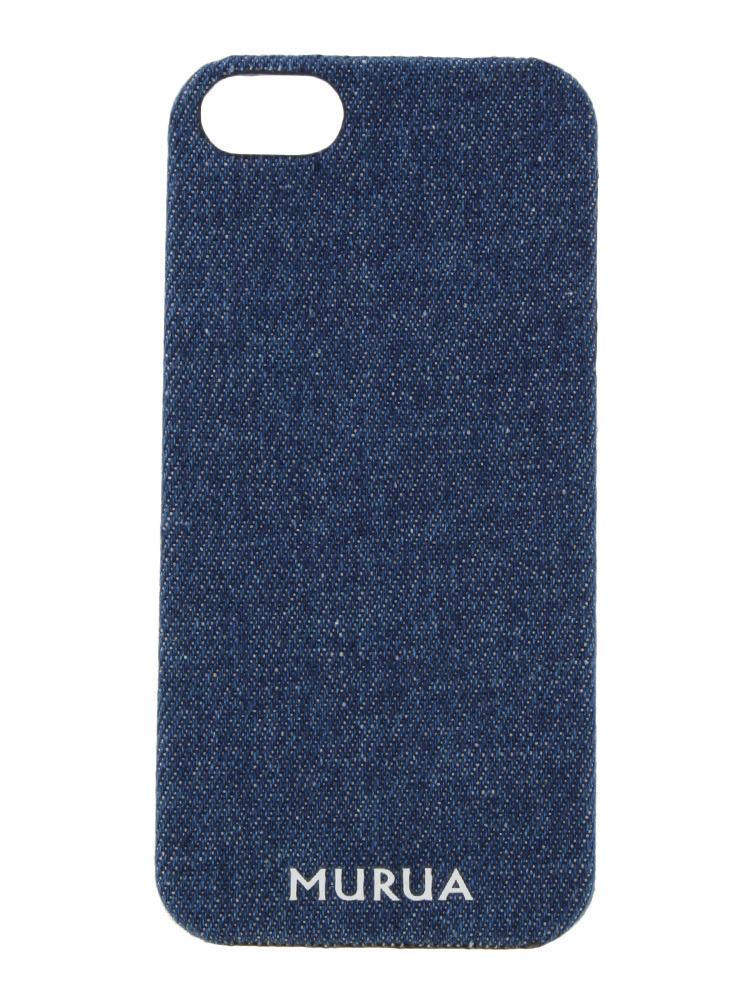 <<5/5s対応>>【LIFESTYLE】DENIM iPHONE5s case(ブルー-F)