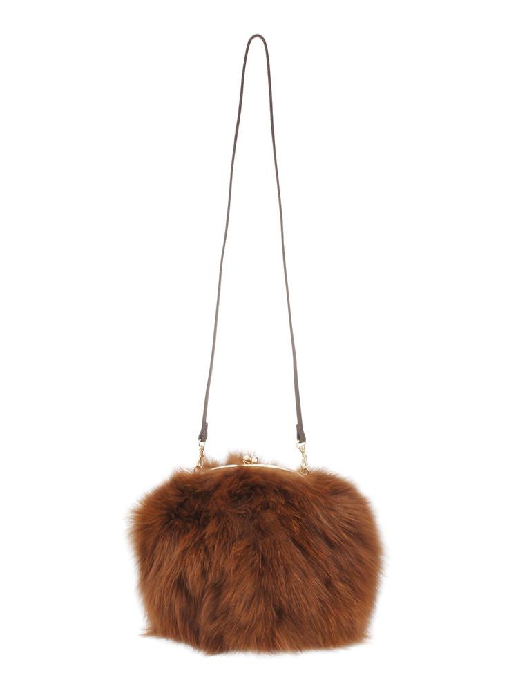 ムルーアのファーバッグの通販