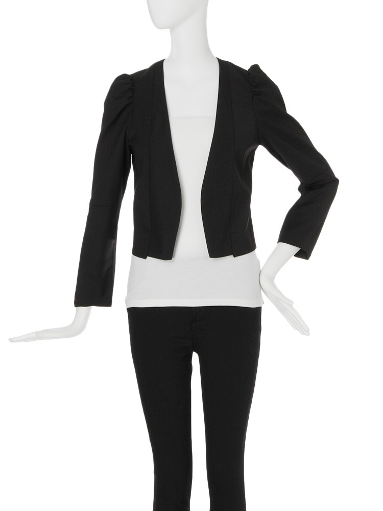【MODE】パワショルショートジャケット(ブラック-1)