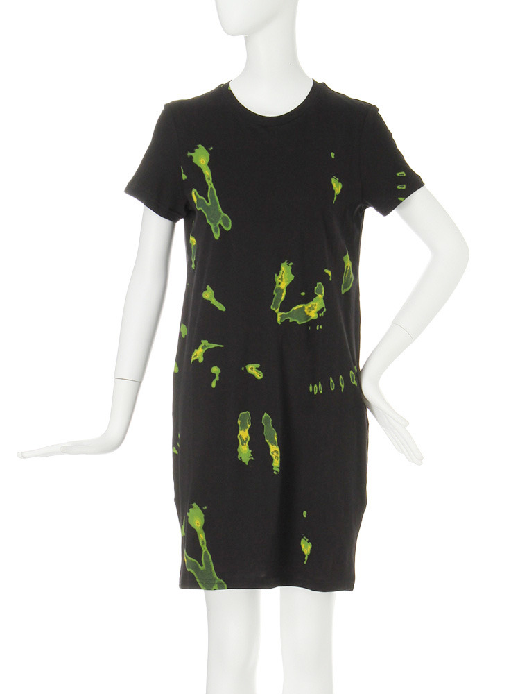 【CASUAL】CHEAP MONDAY Lean tee dress(ブラック-XS)