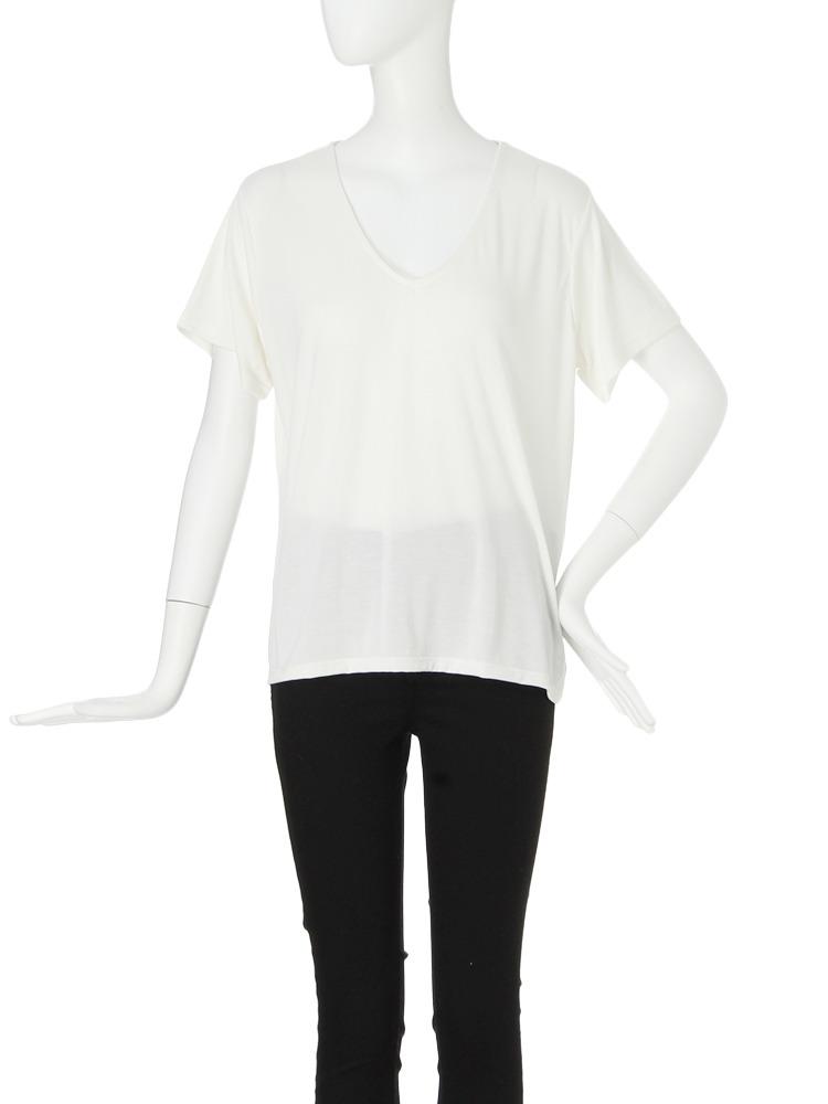 モイストカットTシャツ(ホワイト-F)