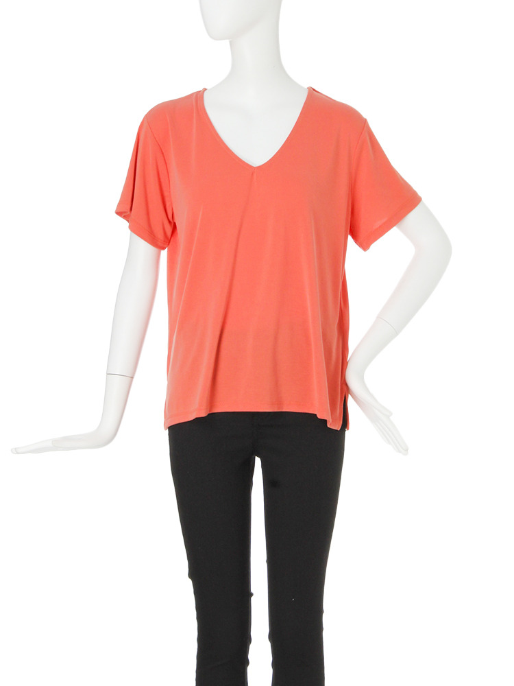 モイストカットTシャツ(オレンジ-F)