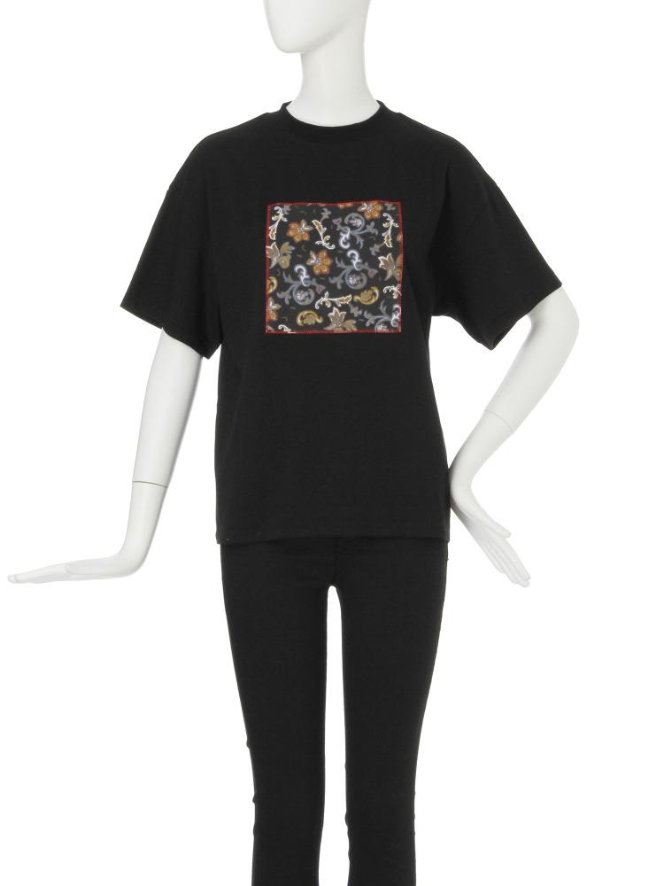 【CASUAL】Attach Tシャツ(ブラック-F)