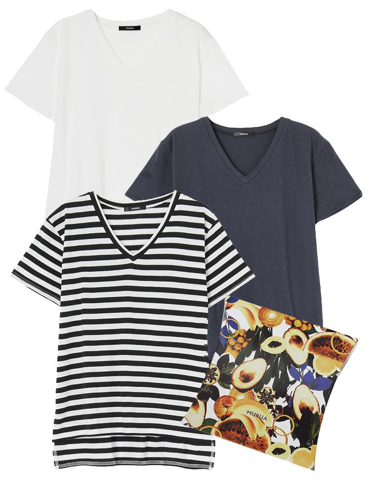 《WEB限定》3COLOR Tシャツ PACK(ミックス-F)