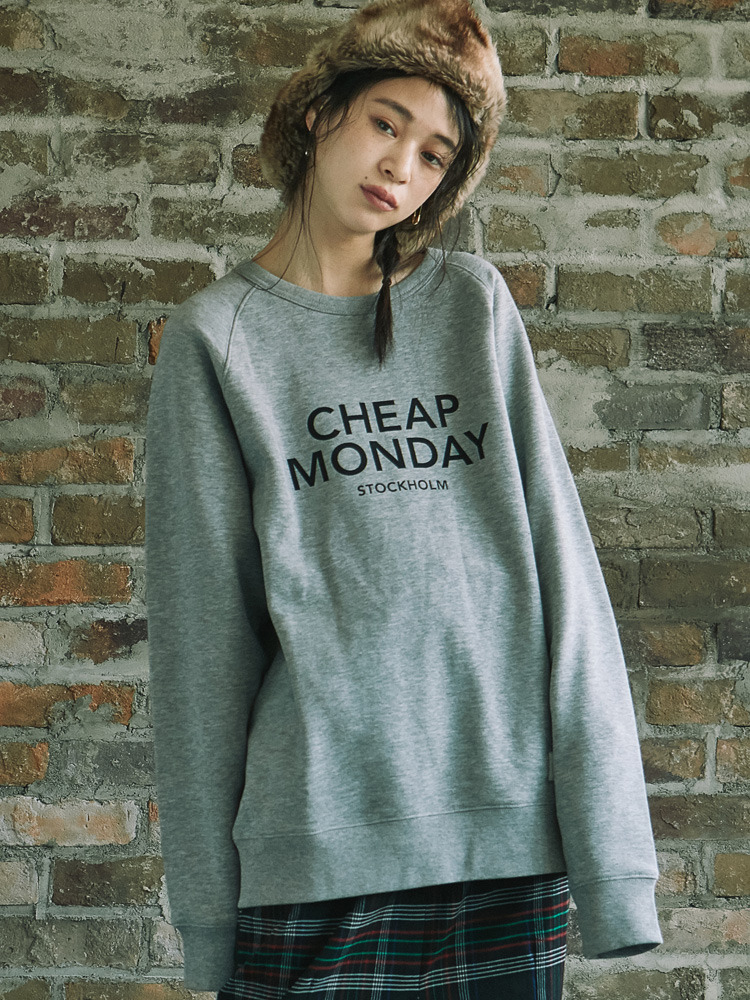 【CHEAP MONDAY×MURUA】Unisex Sweat