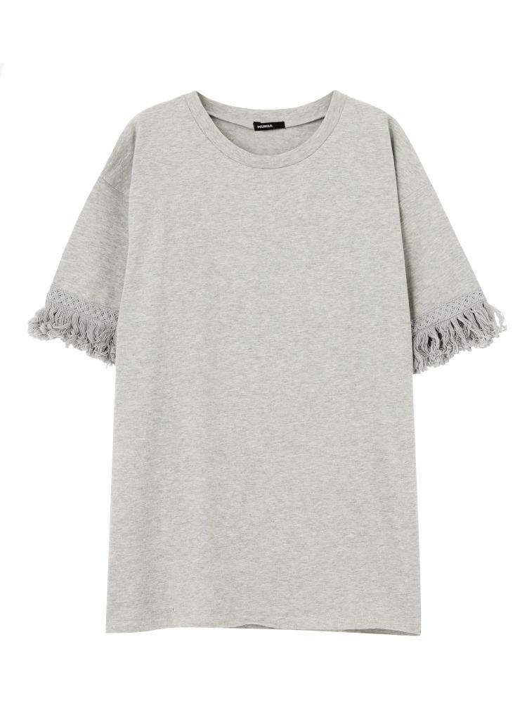 【2017年春新作】フリンジTシャツ