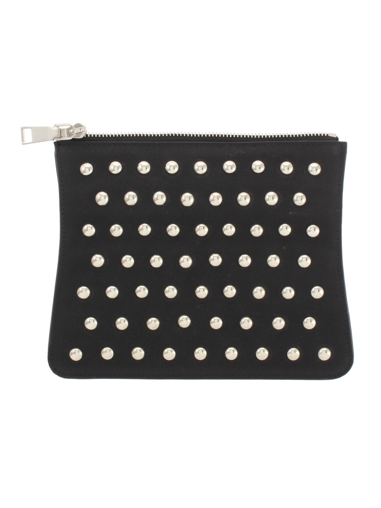 Dot studded Flap(ブラック-F)