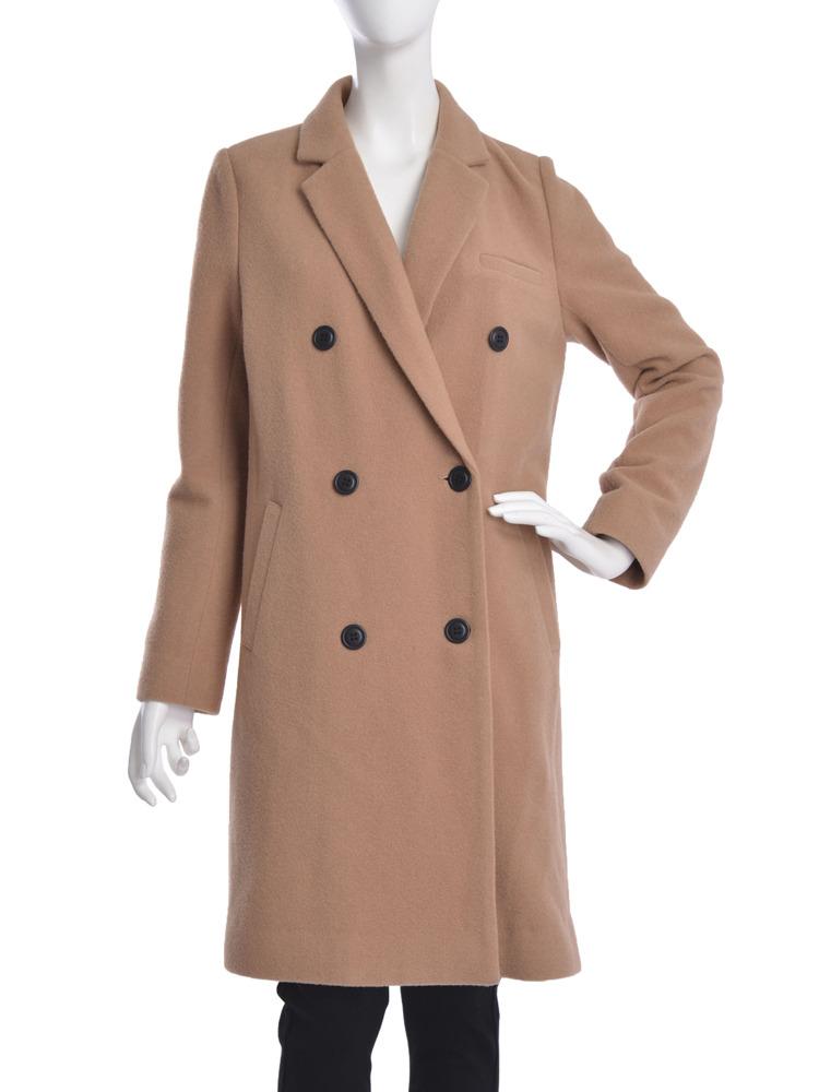 【moi】double chester coat(キャメル-S)