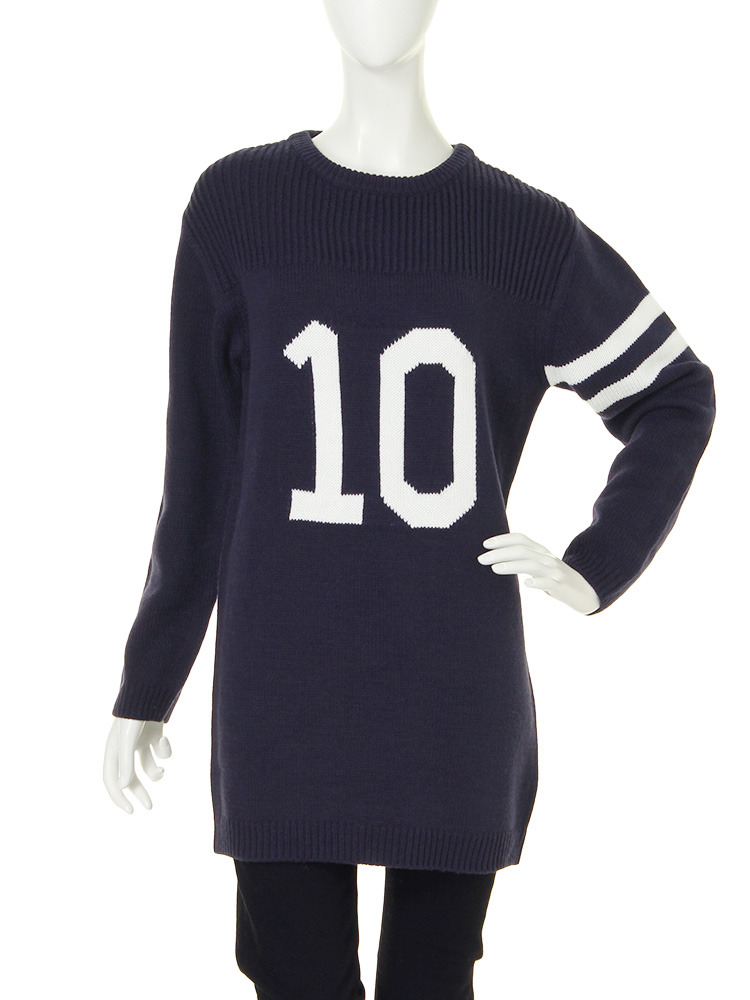 【R】number10ニット(ネイビー-F)