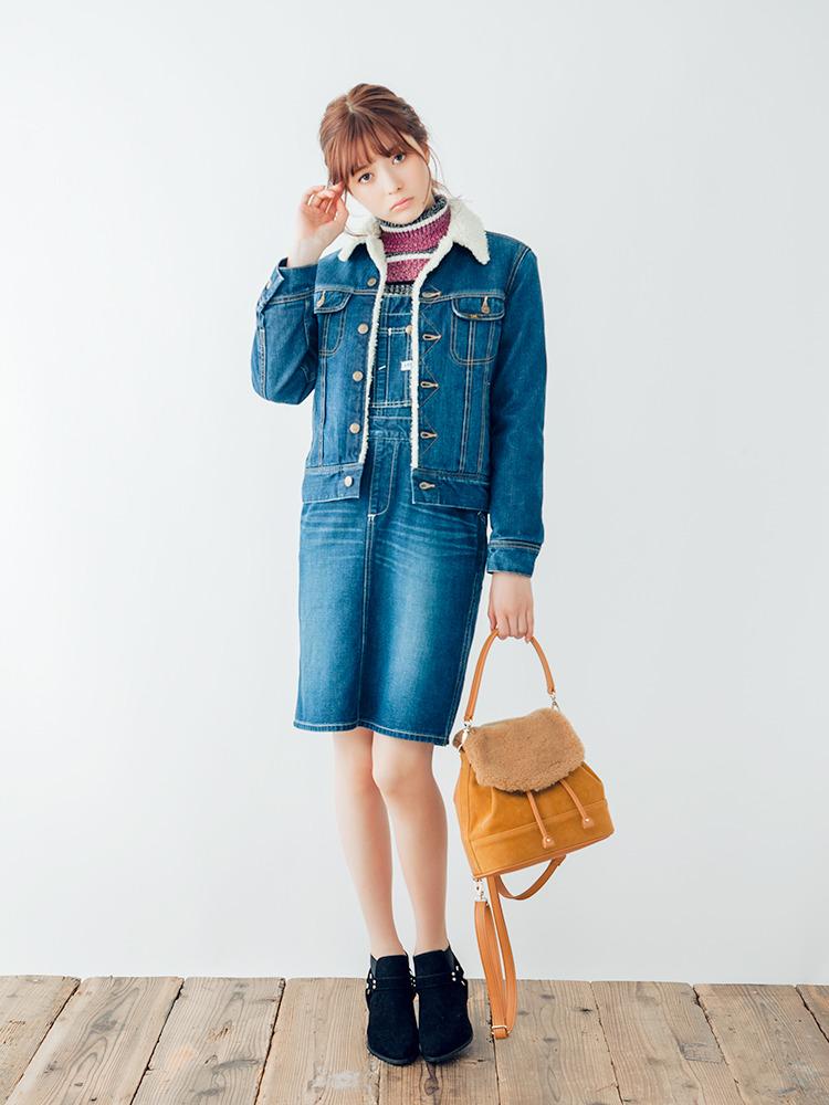 ダズリン|dazzlin公式ファッション通販|ランウェイチャンネル【dazzlin】Lee×dazzlinジャンスカの詳細情報