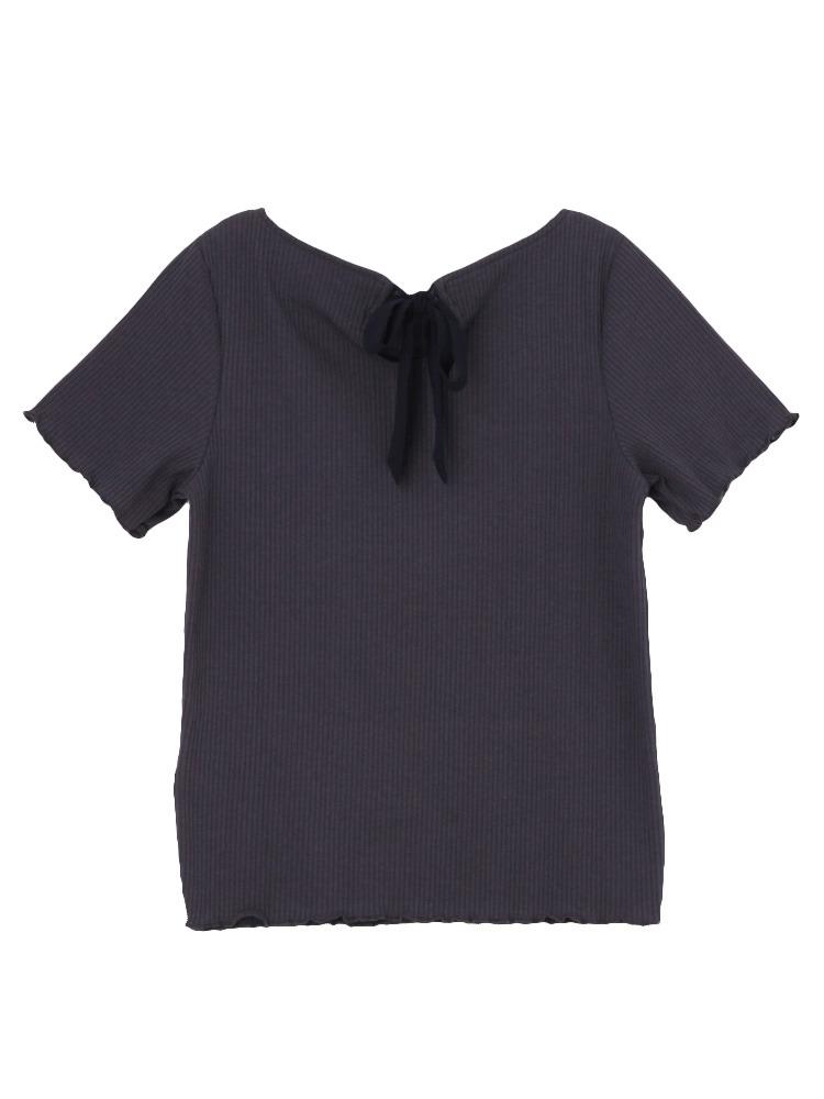 【sw】テレコメローTシャツ(ネイビー-F)