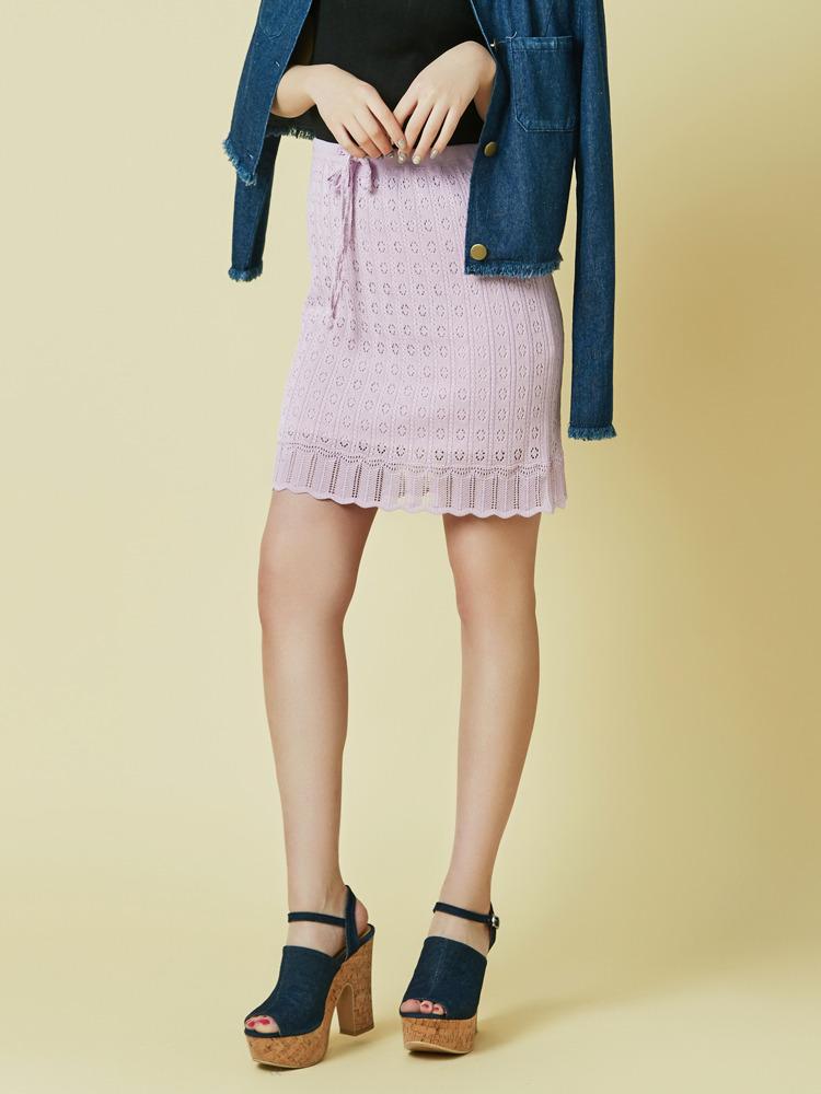 【goods】クロシェニットスカート