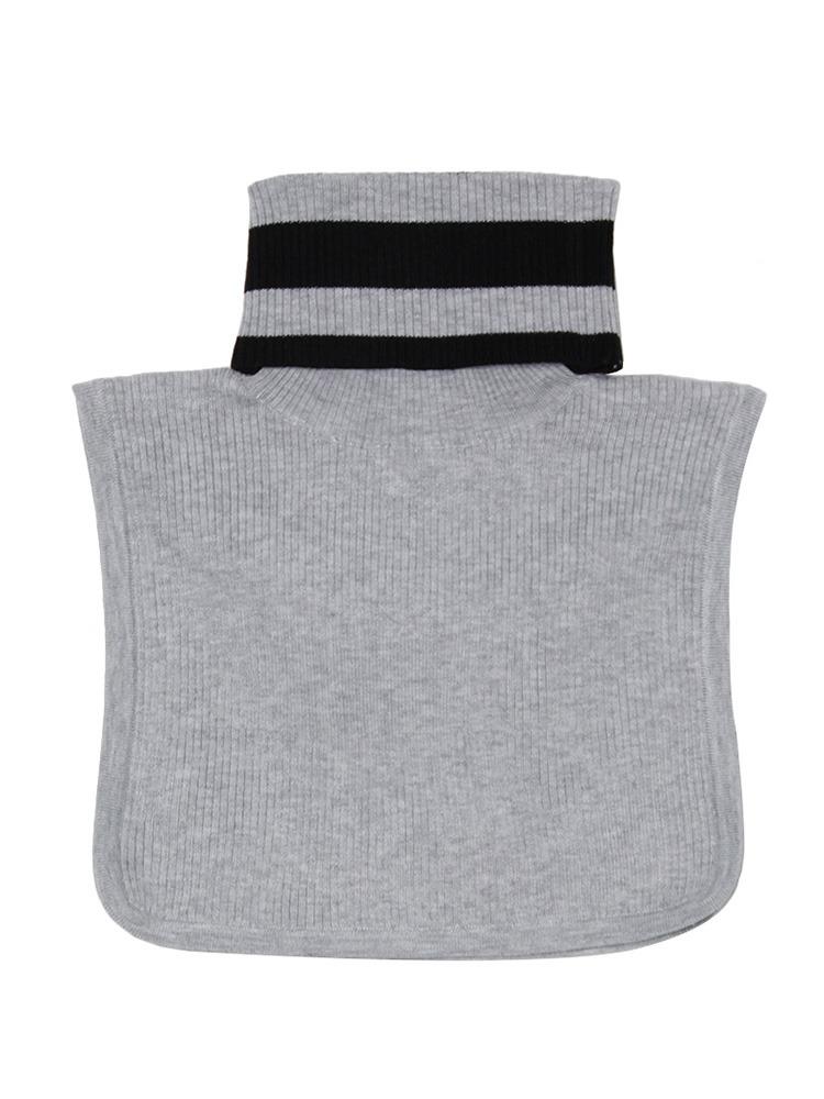 ラインオーバーtuetle neck(グレー-F)