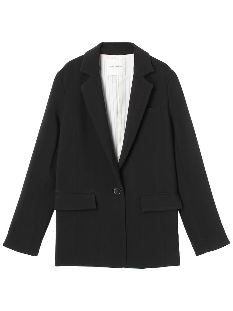 【CHIC】Dressesテーラードジャケット(ブラック-S)