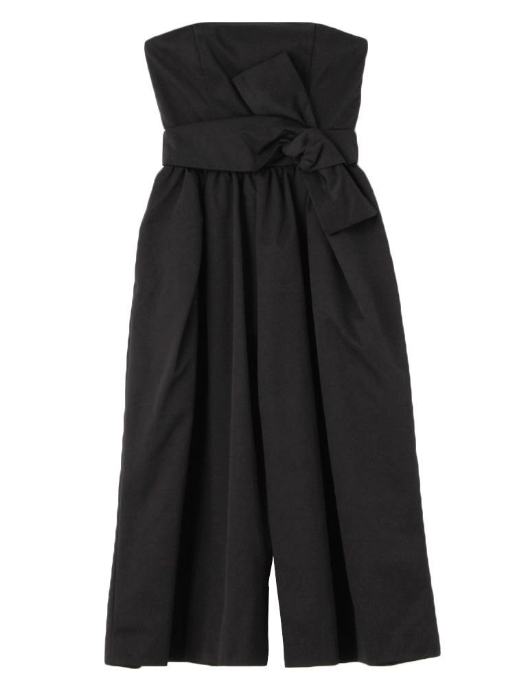 ベアガウチョパンツドレス(ブラック-S)