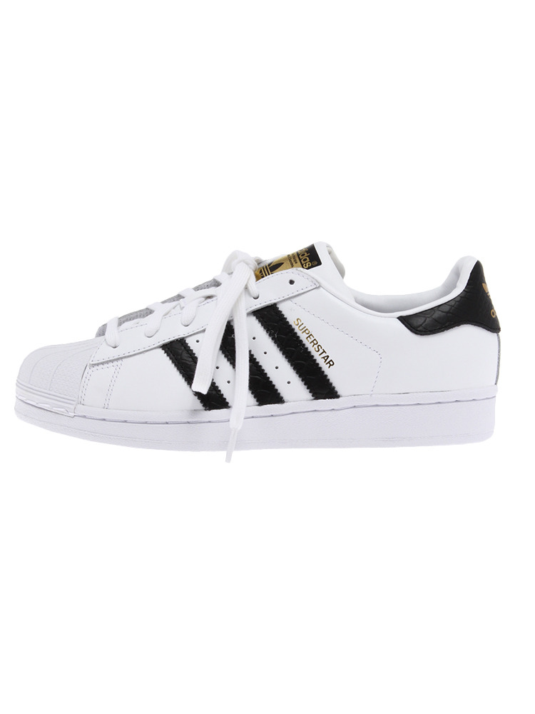 〈adidas〉SUPERSTAR RIVER RIVALRY(ホワイト-XS)