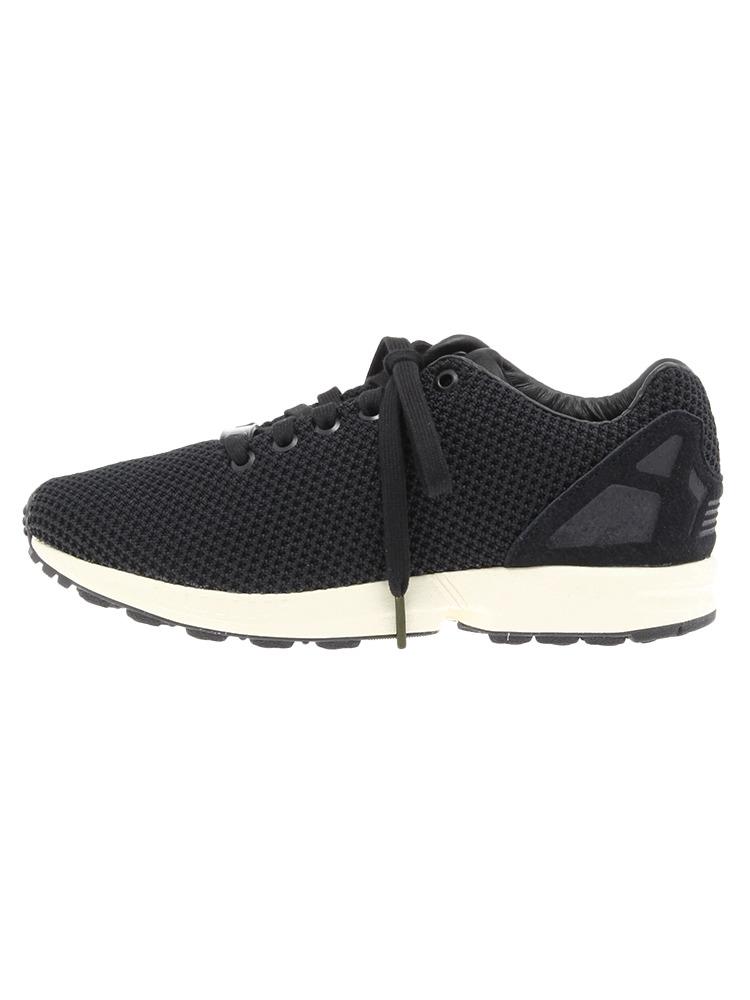〈adidas〉ZX FLUX(ブラック-XS)