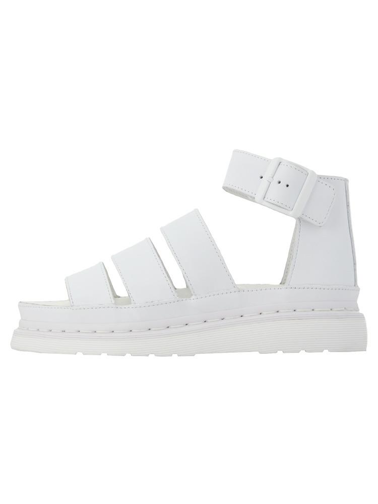 〈Dr.Martens〉Clarissa Chunky Strap Sandal(ホワイト-23.5)