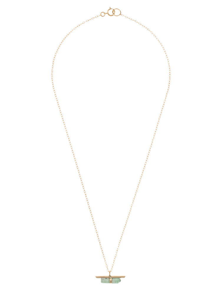 〈Jene DeSpain〉Nova Bar NECKLACE(グリーン-F)