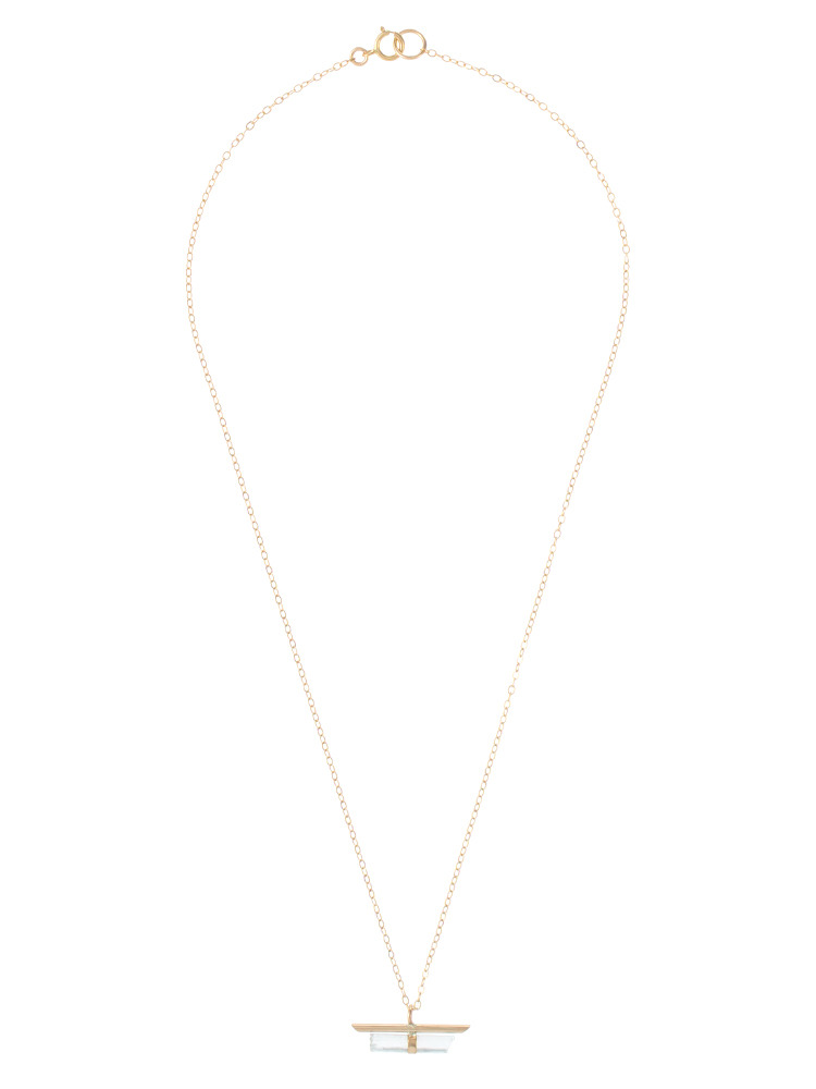 〈Jene DeSpain〉Nova Bar NECKLACE(クリア-F)