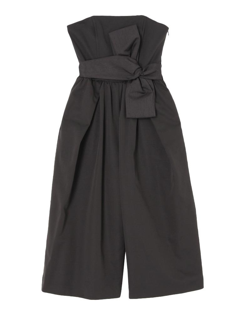 LADYベアガウチョドレス(ブラック-S)