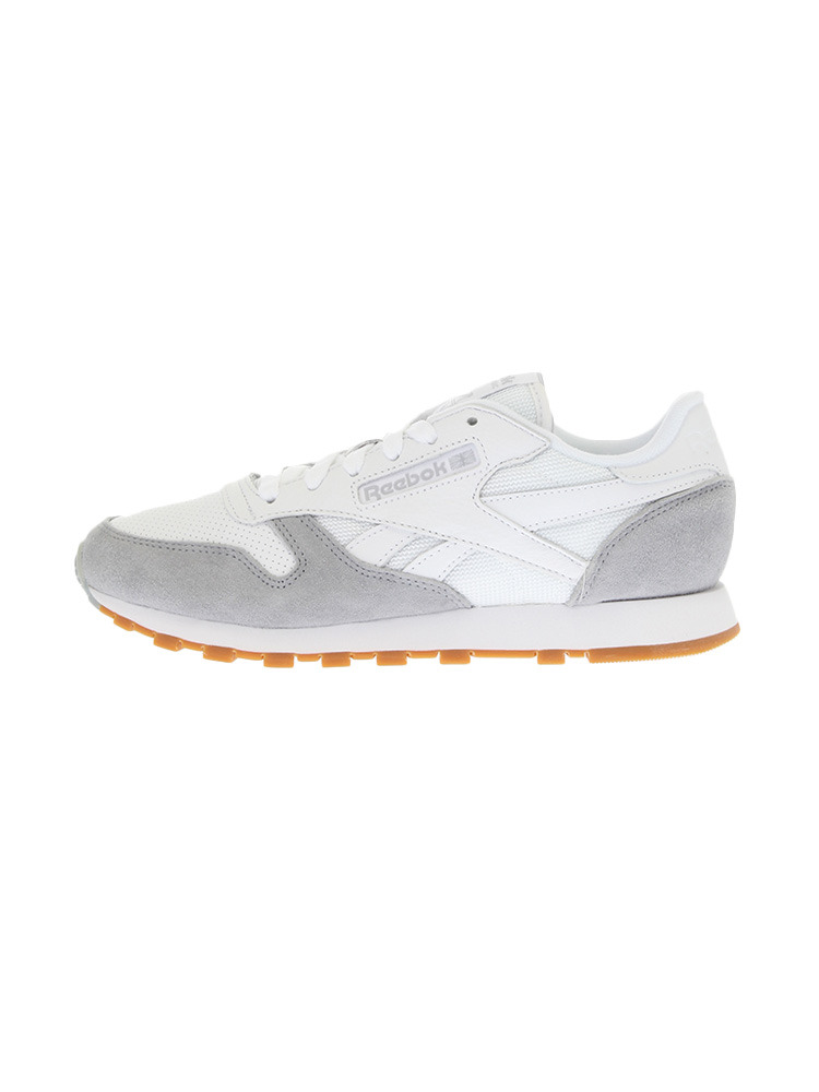 〈Reebok〉CL LEATHER SPP 【GRY】(グレー-24.5)