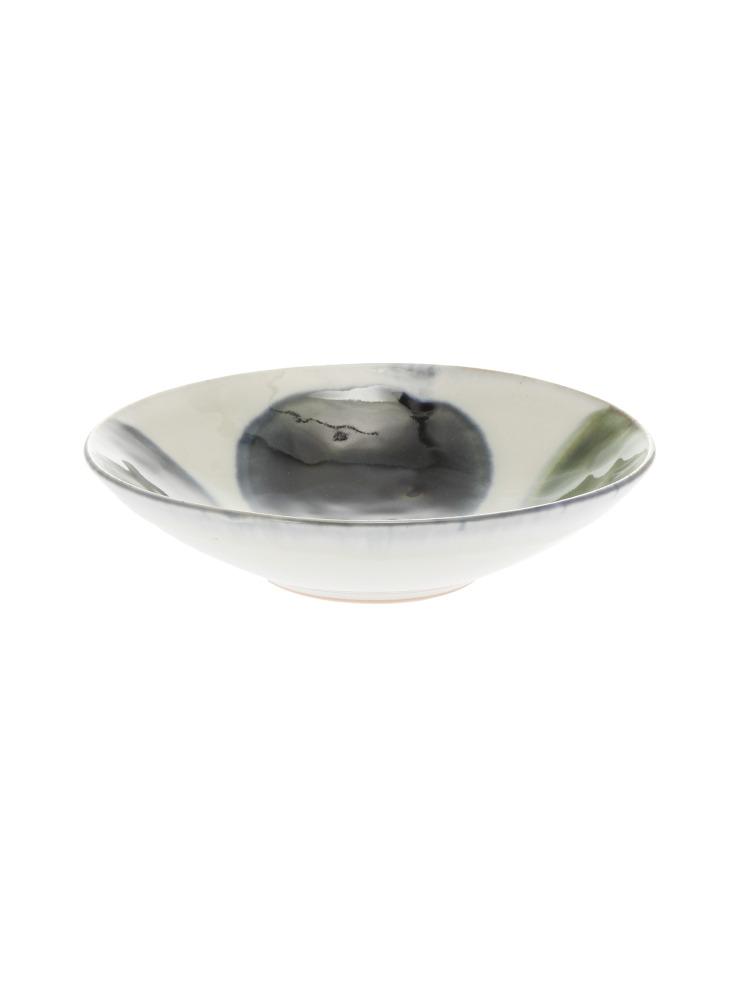 〈KIHARA〉深小皿 呉須丸流し