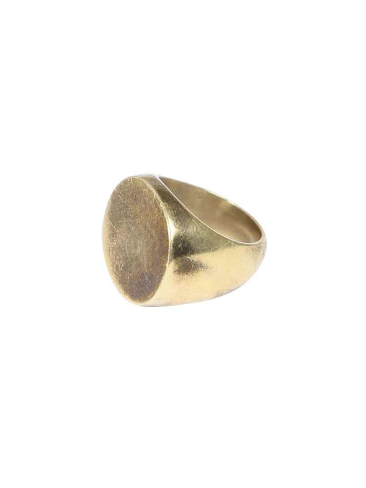 〈SOKO〉Signet RING(ゴールド-6)