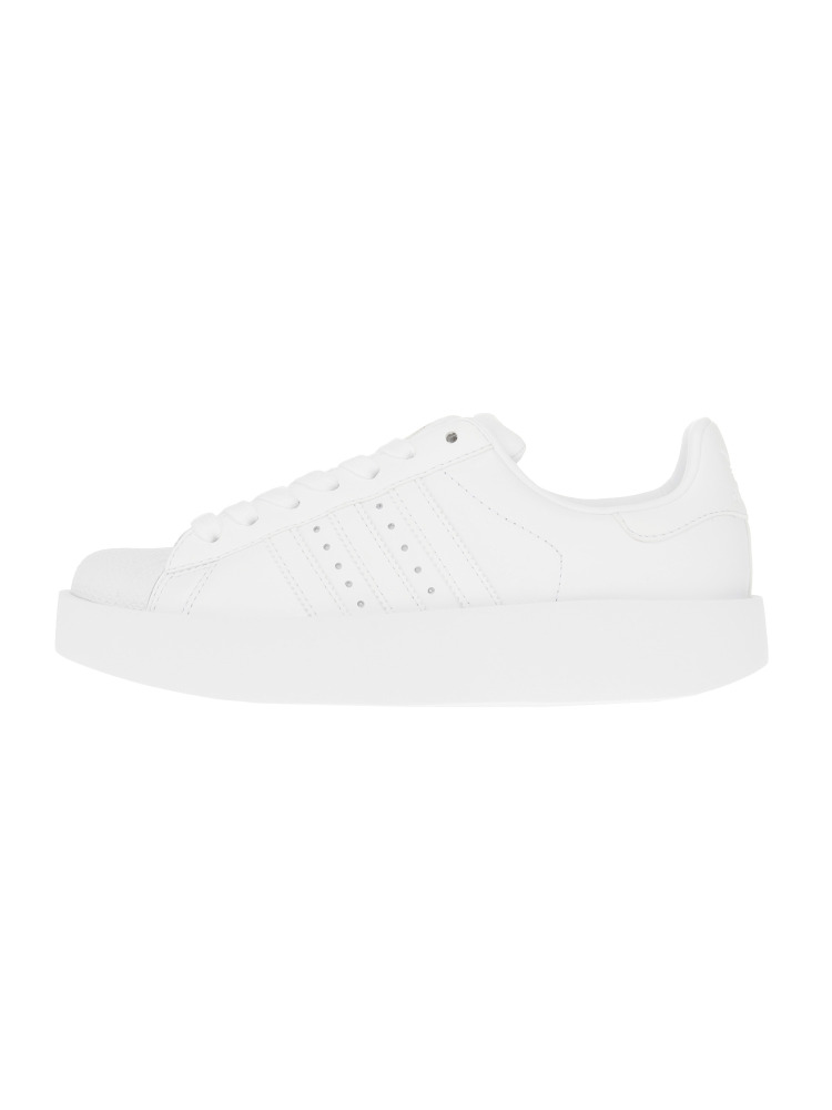 〈adidas〉SUPER STAR BD W(ホワイト-23)