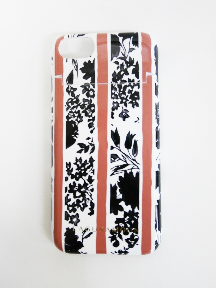 【WEB限定】iPhone7ケース 【Shadow flower】(ピンク-F)