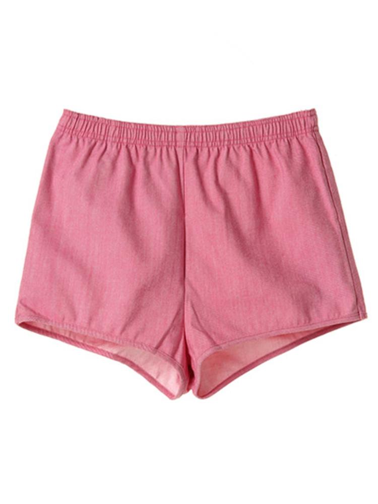 マイクロ ショートパンツ(ピンク-S)