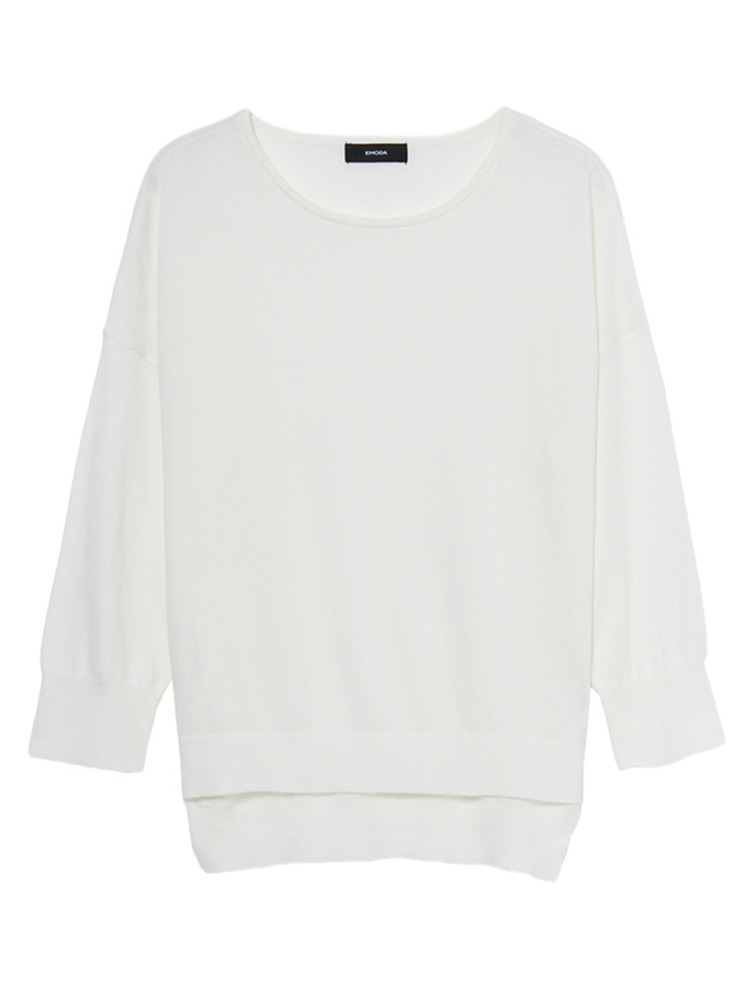 Bright knit TOP(ホワイト-F)