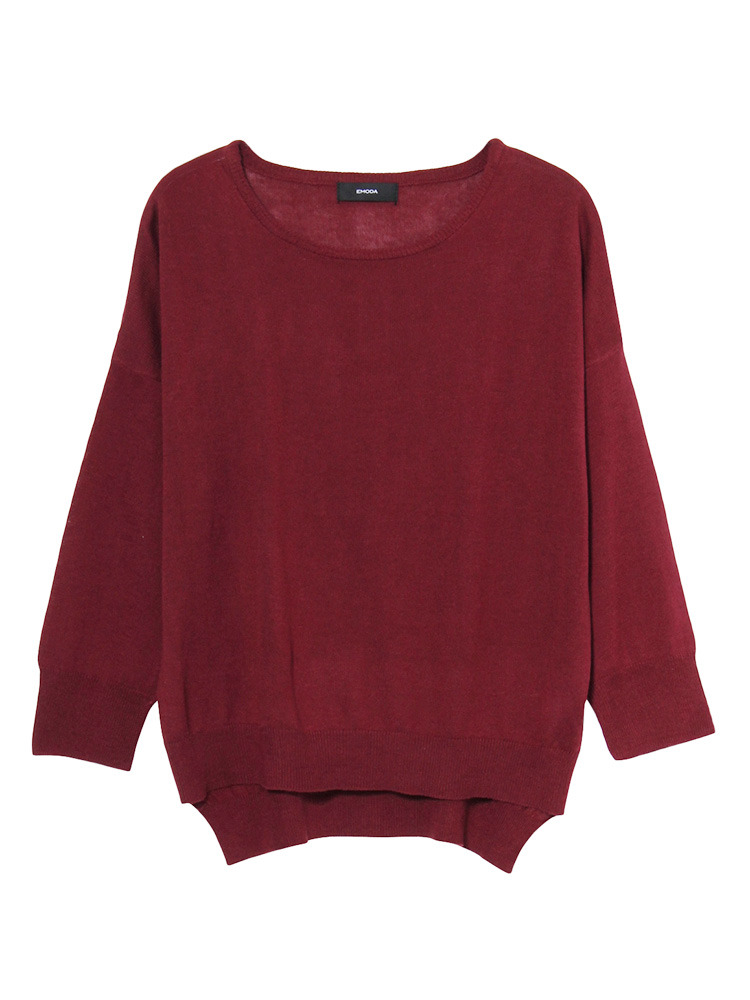 Bright knit TOP(レッド-F)