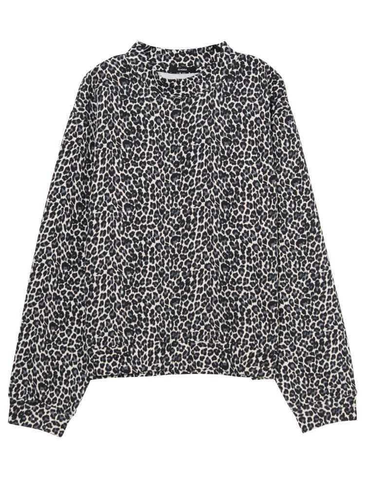 film leopard PO(グレー-S)