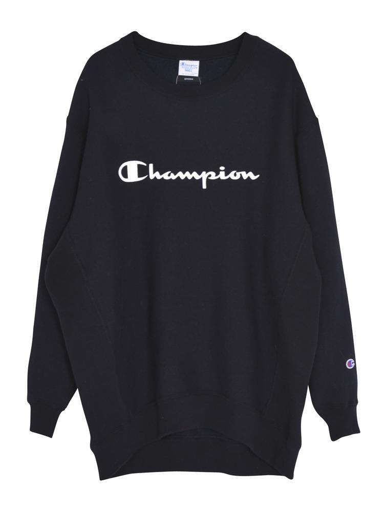 EMODA×Champion RELAX SWEAT TOPS(ブラック-F)