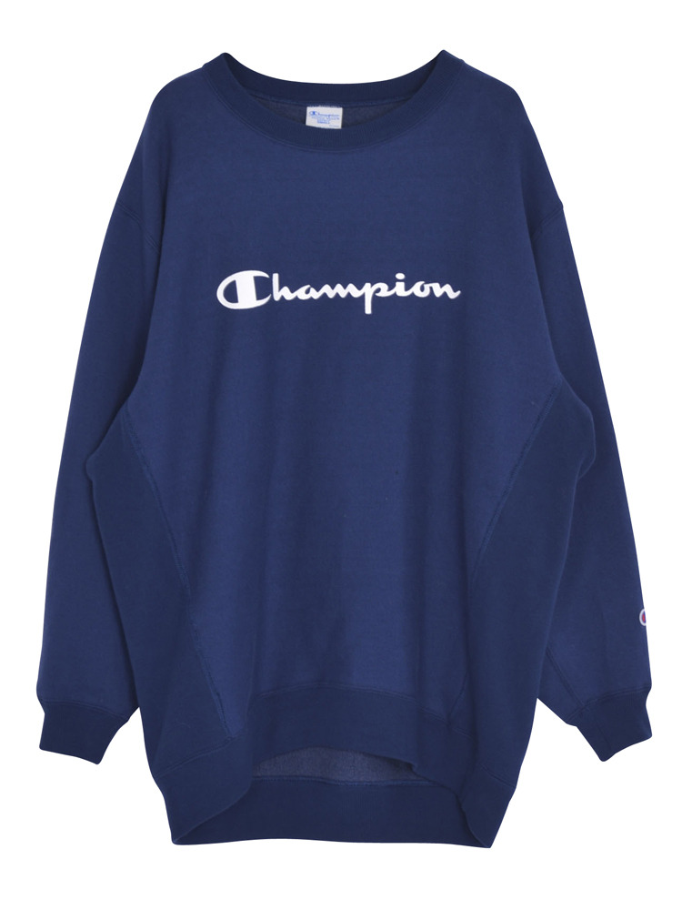 EMODA×Champion RELAX SWEAT TOPS(ネイビー-F)