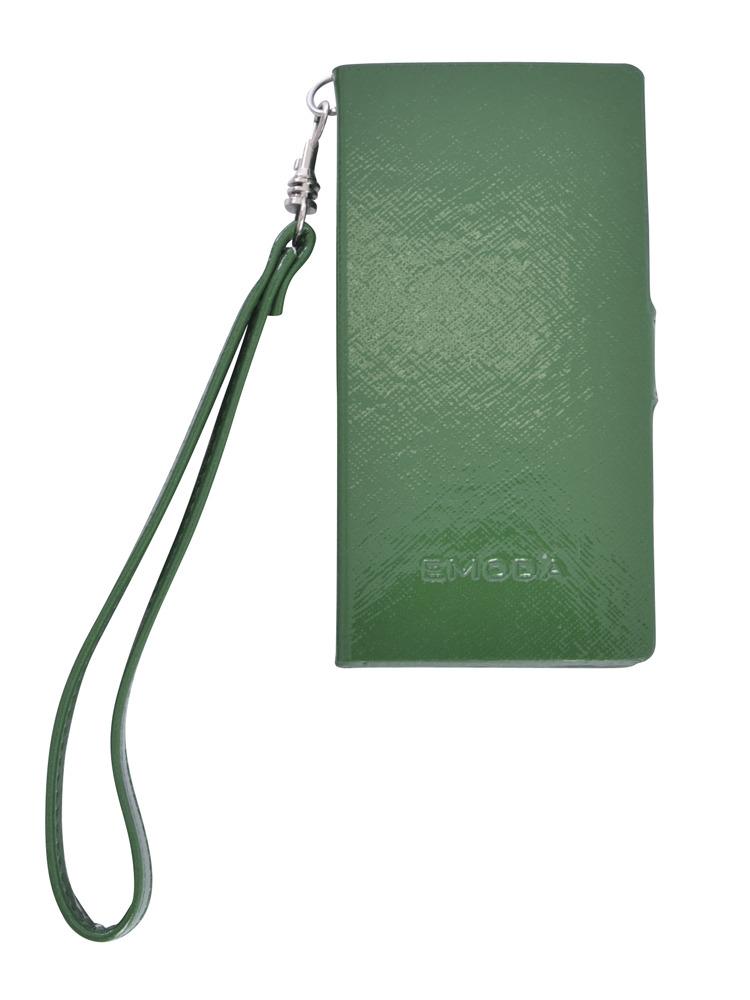 ≪5/5S 対応≫Sout gloss I phone case5/5Sストラップ(グリーン-F)