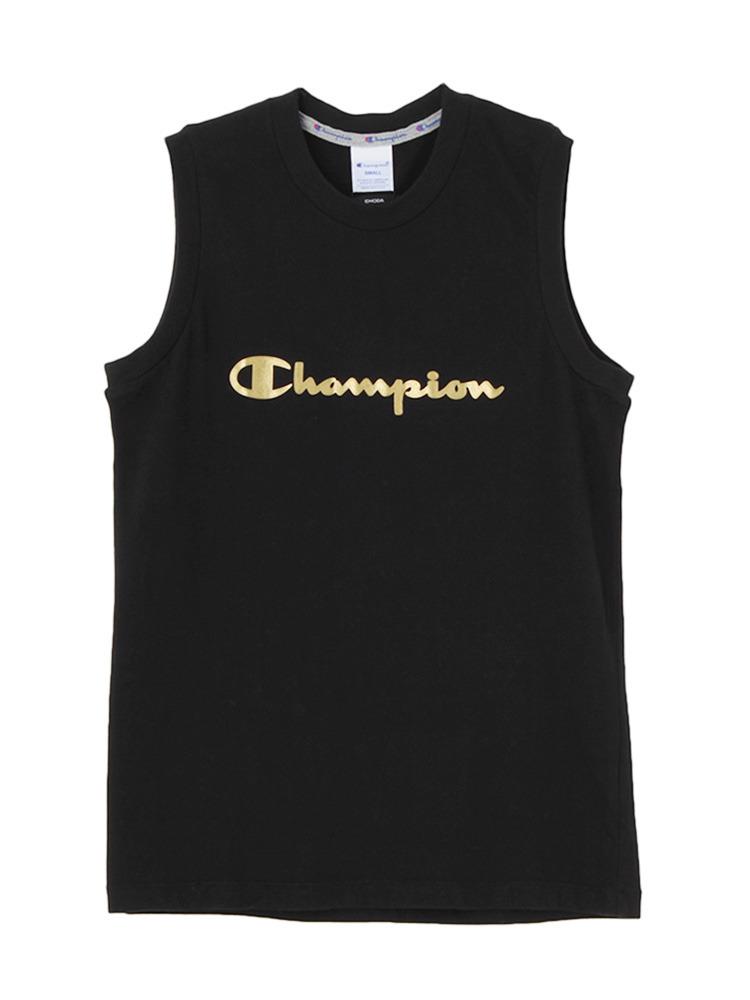 EMODA×Champion BOX タンクトップ(ブラック-S)