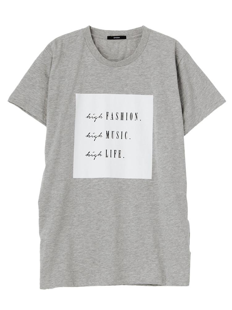 HIGH FASHION Tシャツ(グレー-F)