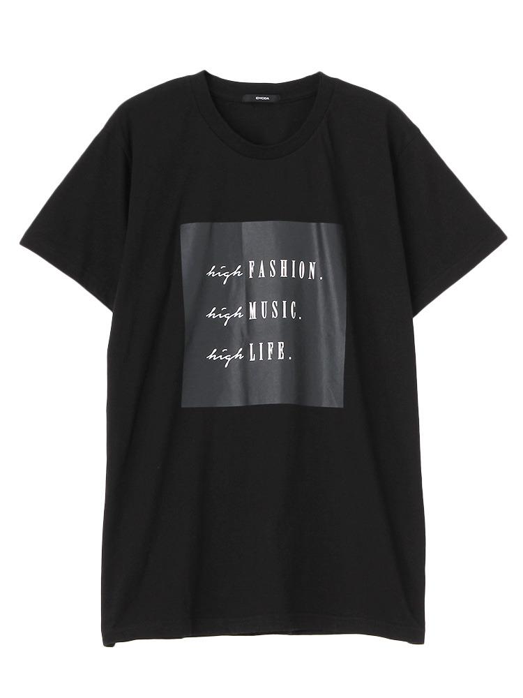 HIGH FASHION Tシャツ(ブラック-F)