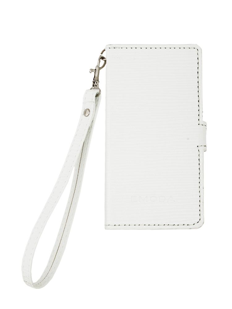 ≪5/5S 対応≫Sout glid I phone case5/5Sストラップ(ホワイト-F)
